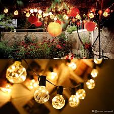 cheap bulb g40 garden led string light copper wire led string
