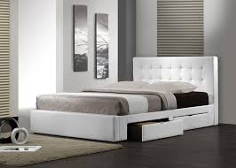 Barbados Queen Bed In White Beds Online - Bedroom furniture in melbourne