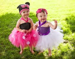 Mickey Minnie Mouse Halloween Costumes Toddlers Complete Daisy Duck Tutu Dress Big Bow Feather Tail Tutu