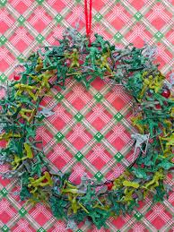 60 christmas crafts for kids wire wreath repurposing and