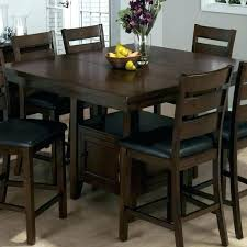 high top kitchen table and chairs tall dining table furniture tall kitchen table extendable dining