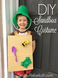 Digger Halloween Costume Diy Cheap Easy Adorable Sandbox Halloween Costume Simply