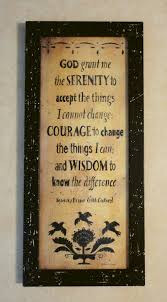 serenity prayer picture frame serenity prayer stencil rustic frame quaker primitive country