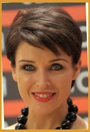 short hairstyles for round faces older women with short haircuts