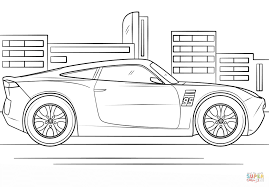 cruz ramirez from cars 3 coloring page free printable coloring pages