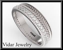 braided wedding band diamond braided wedding band vidar jewelry unique custom