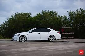 lexus ga350 lexus gs350 vfs 6 silver vossen wheels 2016 1022