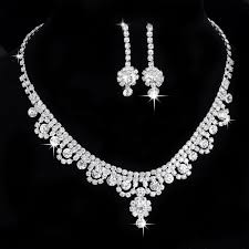 bridesmaid jewelry sets treazy new inspired diamante tennis statement