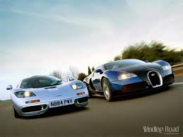 bugatti vs bugatti veyron vs mclaren f1