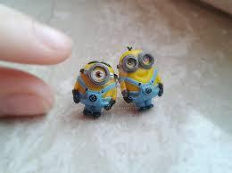 minion earrings minion earrings despicable me by nunyart on deviantart