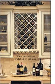 Wine Rack Lattices Lee Valley Tools - Kitchener wine cabinets