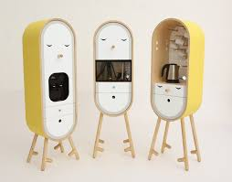 cute kitchen appliances capsular microkitchen with cute face lo lo home building