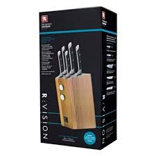 richardson sheffield r vision 5 piece knife block set knife