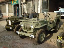 desert military jeep a 1952 short chassis u0026 low bonnet willys jeep team bhp