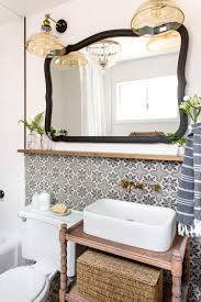 Wrought Iron Bathroom Accessories by Downstairs Bathroom Cottage House Flip Reveal Jenna Sue Design Blog