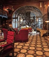 Steampunk Home Decorating Ideas Steampunk Tendencies The Study Set From The Haunted Mansion