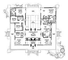 courtyard house plan floor plan u shaped courtyard house plans with pool floor plan u