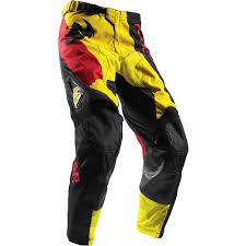 motocross riding gear thor new mx 2017 spring pulse taper yellow red motocross dirt bike
