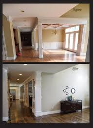 Before And After Living Rooms by Little Pink Houses Before And After Living Room Renovation