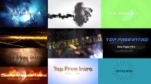 top 10 free intro templates