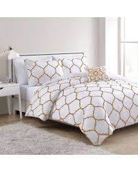 amazing deal on vcny home vcny ogee twin twin xl comforter set in