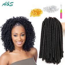soft dread hair lengths 14inch faux locs crochet hair dreadlocks braids havana mambo twist