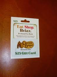cracker barrel gift card cracker barrel country store 25 gift card fast shipping
