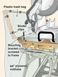 table saw dust collector bag finding space in a small shop for dust collector may seem difficult