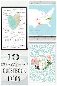 wedding guestbook ideas 10 brilliant wedding guestbook ideas