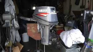 yamaha 8hp power head rebuild swap youtube