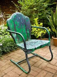 Best Way To Paint Metal Patio Furniture Best 25 Metal Garden Chairs Ideas On Pinterest Vintage Metal
