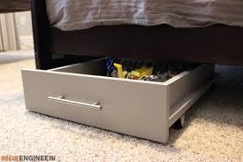 under bed storage diy under bed storage cart rogue engineer