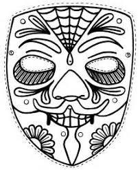 free printable halloween coloring masks bell rehwoldt