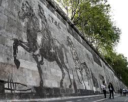 locating william kentridge s massive mural in the roman landscape william kentridge triumph and laments photo courtesy alice marinelli
