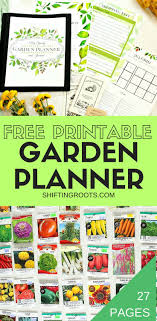 printable vegetable planner planning a flower or vegetable garden this spring get organized