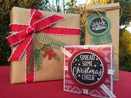 stampin u0027 creative christmas gift wrapping ideas