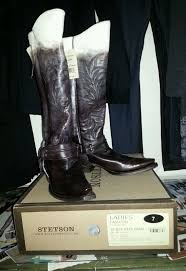 s garden boots size 11 stetson boots size 7 brown hombre antiqued boots with back zipper