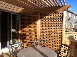 decor lovely design of wooden lowes lattice in white for garden