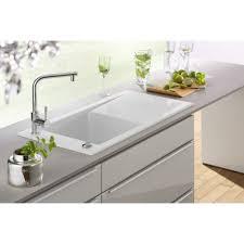 White Modern Kitchen by White Inset Kitchen Sink Boxmom Decoration