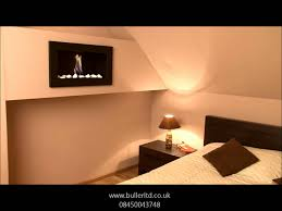 wall mounted bio fireplace golf youtube