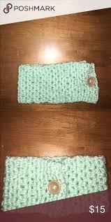 mint green headband mint crochet headband mint green headband accessories hair