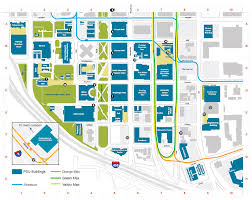 Penn State Parking Map Portland State University Map Portland State University Campus