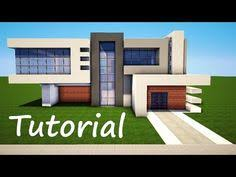 how to build a small modern house minecraft simple easy modern house tutorial how to build 19