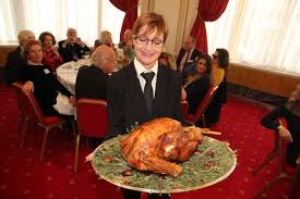 americans and friends celebrate thanksgiving in monaco and