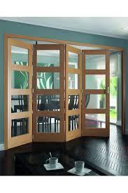 Jeld Wen Room Divider Jeld Wen Shaker White Oak 4 Light Clear Glazed Roomfold Internal