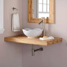 One Piece Bathroom Vanity Tops by Best 25 Vessel Sink Vanity Ideas On Pinterest Small Vessel
