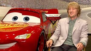cars 3 owen wilson on cars 3 and why he never sits through the movie