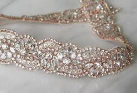 wedding dress belts rosie gold rhinestone diamante bridal sash wedding