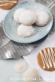 gluten free goddess snowy lemon cookies