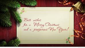 best wishes for a merry and a prosperous new year